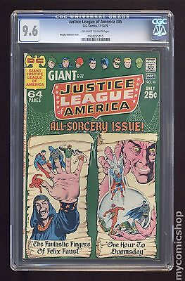 Justice League of America (1960 1st Series) #85 CGC 9.6 0958235015