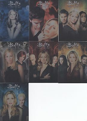 Buffy Ultimate Collector's Set Series 2 - Set Of 7 Season Montage Cards C1 - C7