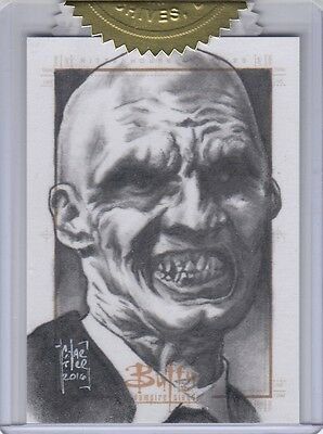 Buffy Ultimate Collector's Set Series 2 - Francois Chartier Sketch Card