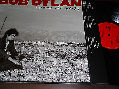 """BOB DYLAN - Under The Red Sky, LP 12"""" SPAIN 1990"""