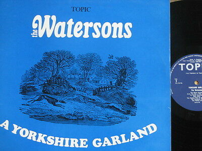 """The Watersons """"a Yorkshire Garland"""" 1966 English Folk Excellent Condition"""