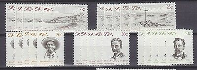 Stock Clearance! South West Africa 1983 - Centenary Of Luderitz Set X 5 - Mnh