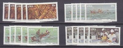 Stock Clearance! South West Africa 1983 - Lobster Industry Set X 5 - Mnh