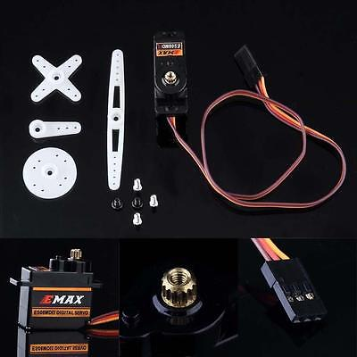 Mini Protable High Sensitive Emax ES08MD II Sub Micro Servo For RC Helicopter PK