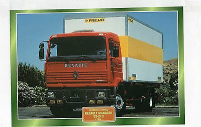 Renault Manager G340 ti              Glossy   Picture (T208)