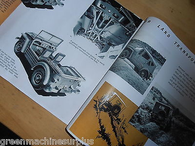 Austin Champ.4x4.Sales brochure.A3 Reproduction.