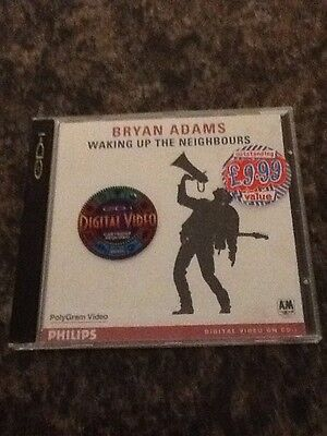 Bryan Adams - Waking Up The Neighbours Digital Video On Cd I Rare Philips