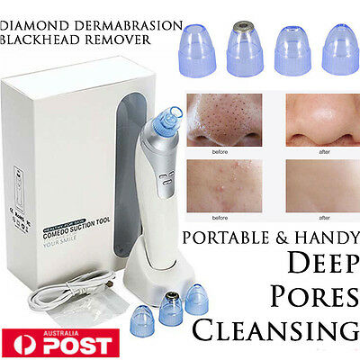 Face Blackhead Facial Pore Cleanser Acne Remover Skin Cleaner Cleansing Tool AU