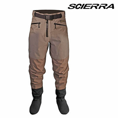 New Scierra Cc3 Xp Waist Waders Stocking Foot All Sizes Rrp £130