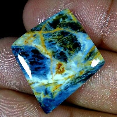 19.80Cts. Natural Mind Blowing Flashy Pietersite Fancy Cabochon Loose Gemstones