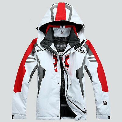 Men's Winter Water Resist Ski Jackets Outdoor nowboarding Coat Thicken S M 2XL