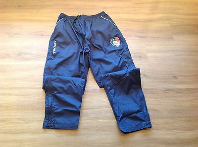 Leicester Tigers. Player Issue. Waterproof Tracksuit Bottoms. Used. 2XL.