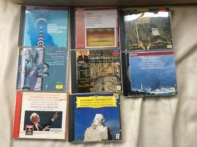 Collection of 7 High Quality Classical CD's
