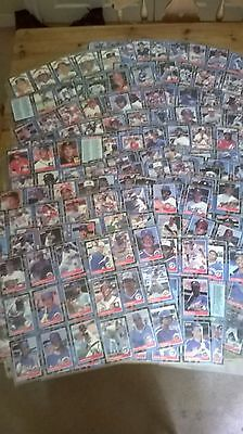 Collection of Over 650 Donruss Baseball Cards From 1988