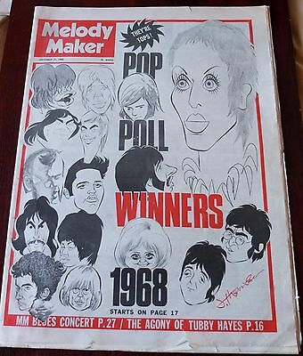 Melody Maker September 21 1968 Beatles Stones Who Clapton Sly Stone Canned Heat