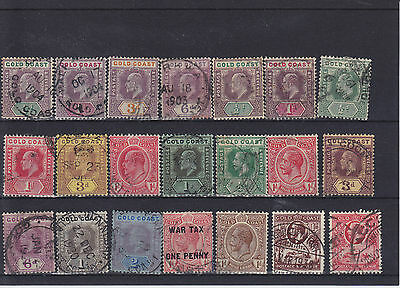 Gold Coast KEVII - KGV Used Collection