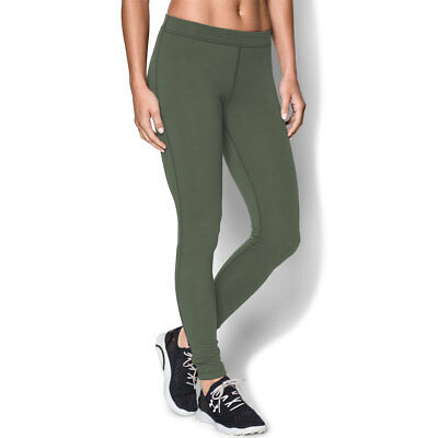 Under Armour Womens UA Favorite Wordmark Legging - Downtown Green - XL