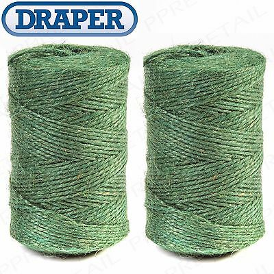 100M-500M NATURAL Garden Twine STRONG Jute String Plant/Stem Support/Training
