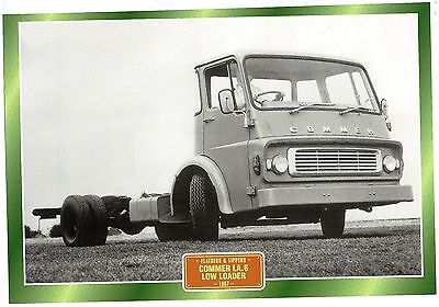 Commer LA.6 Low Loader                 Glossy   Picture (T232)