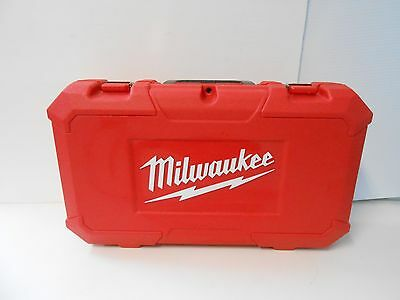 Used Empty Milwaukee Plastic Super Sawzall EMPTY CASE ONLY FOR A 5262-21 EMPTY