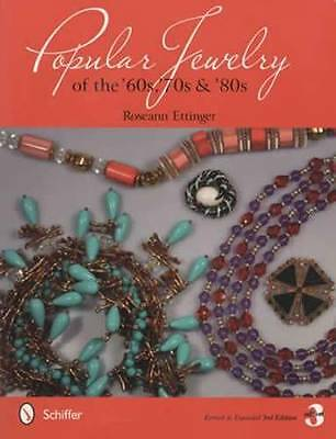 Vintage Popular Jewelry 60s 70s 80s Collector ID Guide incl Trifari Other Makers