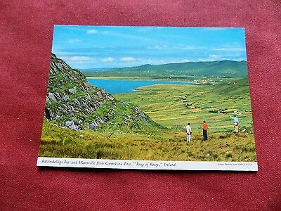 VINTAGE IRELAND: RING OF KERRY Ballinskelligs Bay colour HINDE