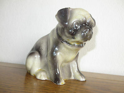 Vintage/Antique Pug Dog Figurine Ornament