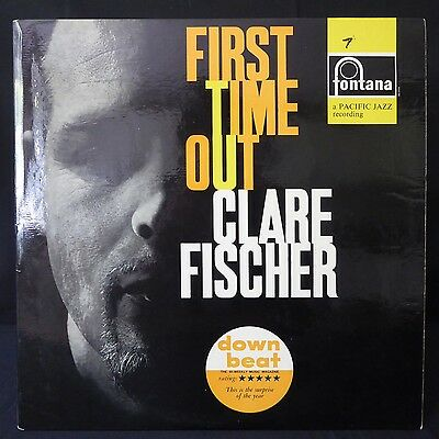 CLARE FISCHER First Time Out FONTANA UK 1st Press LP Jazz NM