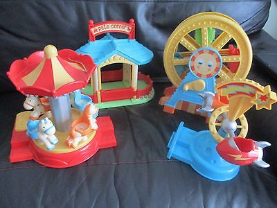 ELC Early Learning Centre - HAPPYLAND bundle job lot with sounds - fairground