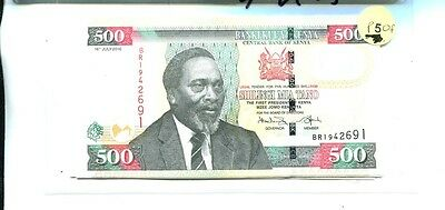 Kenya 2010 500 Shillings Currency Note Choice Cu 2422J