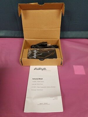 New in Box Avaya 1151B1 700227242 VOIP POE IP Phone Power Supply! MANY AVAILABLE