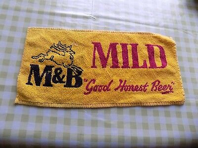 Cloth Bar Towel - M&B (Mitchell and Butlers) Mild