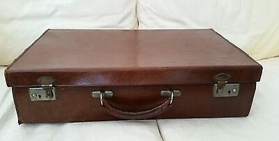 Victorian Hand Stitched Leather Case