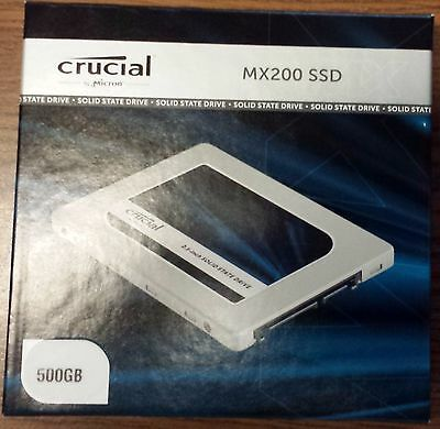 Crucial Solid State Drive SSD CT500MX200SSD1 500GB MX200 2.5inch 7mm