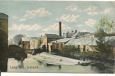 Old Postcard-LONGFORD-IRELAND-byShurey's Publications.