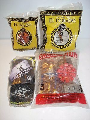Lot of 4 new in package BURGER KING TOYS - PRICED 2 SELL