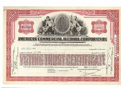 Lot: 3 American Commercial Alcohol  1930