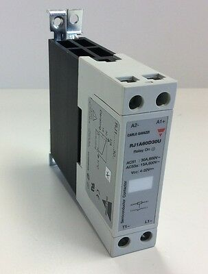 Carlo Gavazzi RJ1A60D3OU Solid State Relay 4-32VDC DC Integrated Heat Sink
