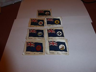 """SILK CIG CARDS.(ANON) FLAGS. Inscribed """"5th. Series. 7 No."""