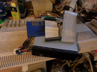 Amiga 1200 Black External CD drives with leads and driver disk tested working
