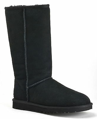 NEW IN BOX Ugg Australia Women's Classic Tall Black Boots - M# 5815 - Size 8