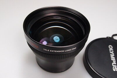 OLYMPUS CAMEDIA TCON-14B 62mm TELE EXTENSION LENS PRO MINT W/CAPS