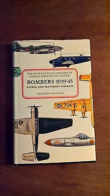 The Pocket Encyclopaedia of World Aircraft BOMBERS 1939-45 HB Book by Munson