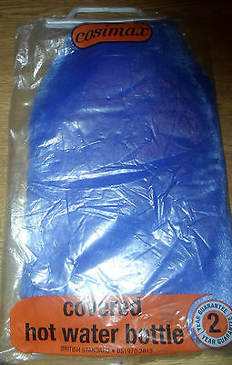 Hot Water Bottle And Cover New