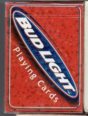 bud light brewery.  playing cards. new.