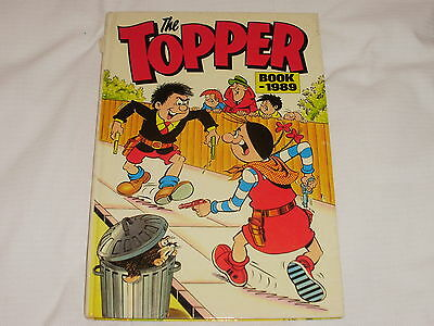 The Topper Annual 1989 Very Good Condition