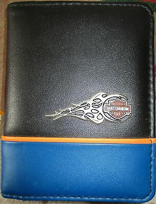 2005 Pocket HARLEY DAVIDSON ADDRESS BOOK With Simulated Leather Covers Hallmark