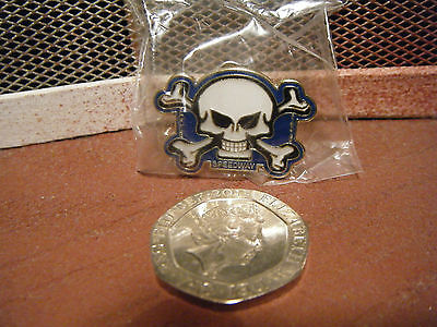 """POOLE PIRATES"" 2015 Gold Speedway badge. New and sealed."