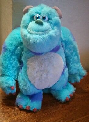 """Disneyland Paris 12"""" Tall Monsters Inc Sulley Character Plush Soft Toy"""