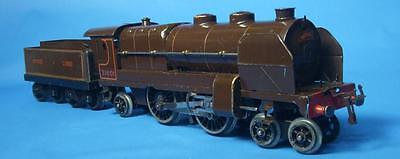 Hornby O gauge No3 Nord type locomotive and tender